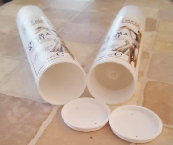 I flaconi airless per evitare sprechi
