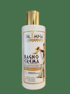Bagno crema al latte d'asina olimpia cosmetics
